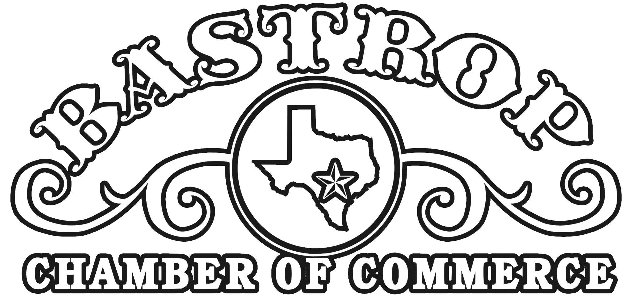 Bastrop chamber of commerce logo