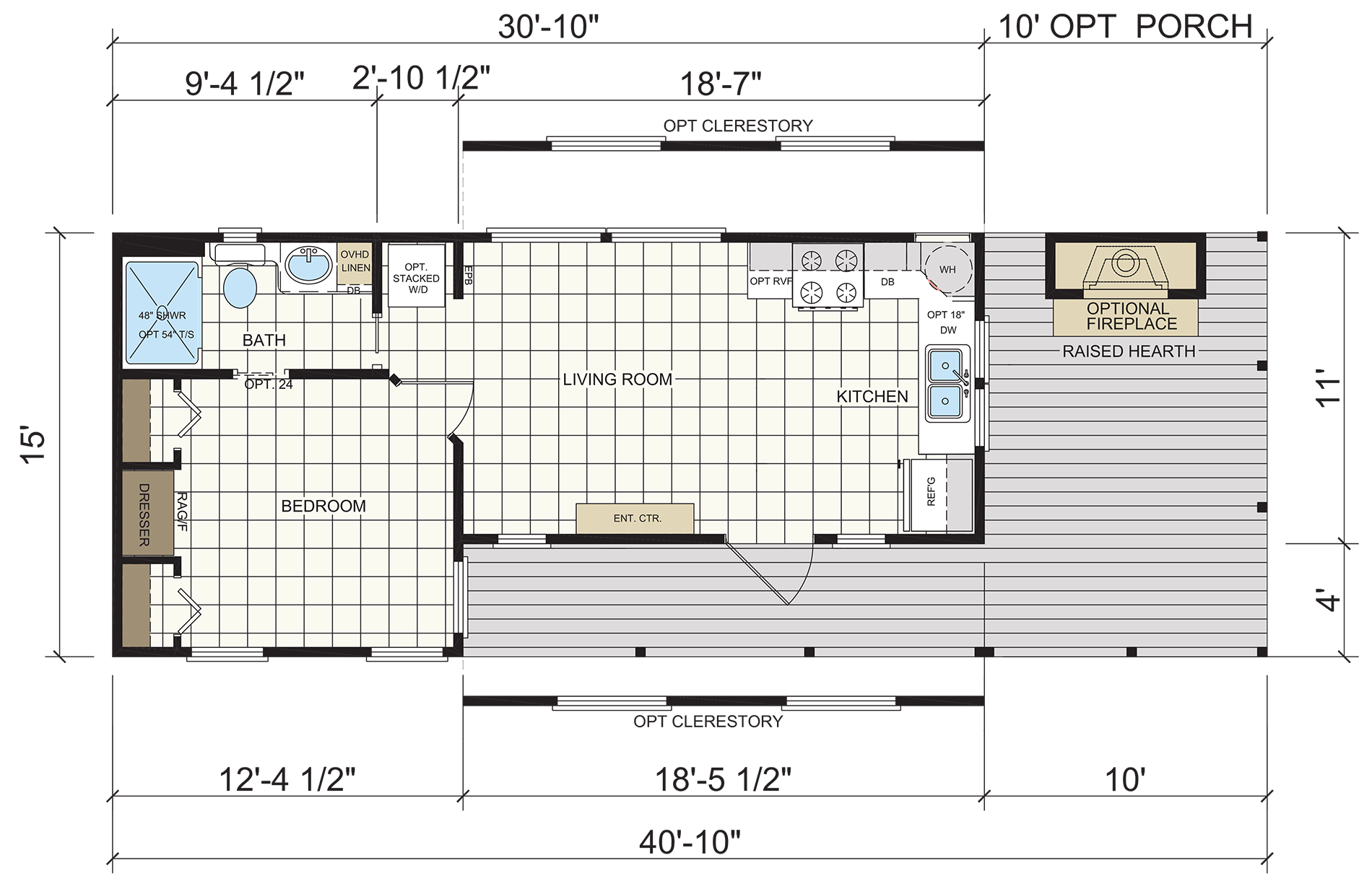 Hill Country floor plan